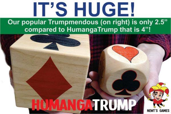 HumangaTrump compared to Trumpmendous