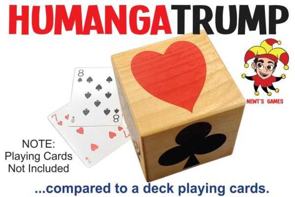 HumangaTrump compared to deck of cards