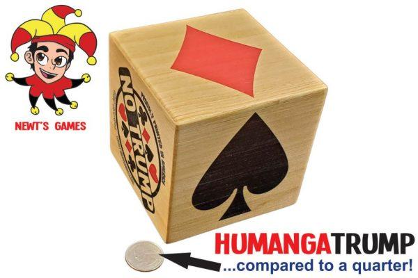 HumangaTrump compared to quarter