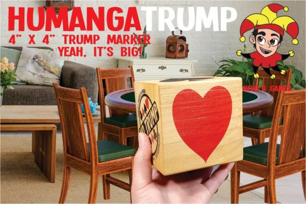 HumangaTrump in front of game room table