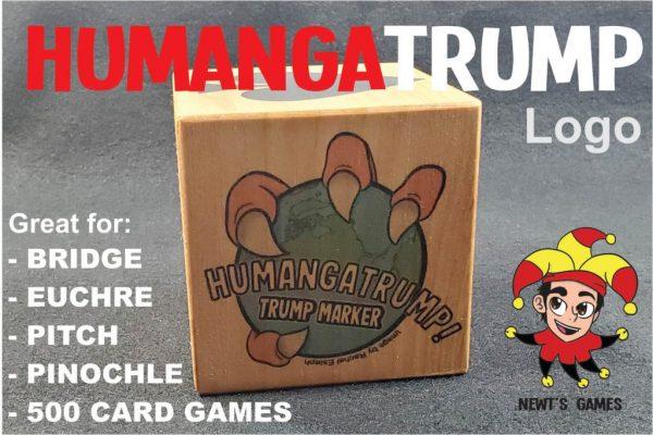 HumangaTrump logo side of trump marker