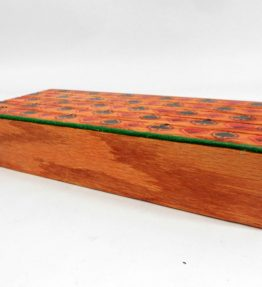 Suited Oak 4 Tier (or Slot) Wooden Playing Card Holder - Includes Two Holders - Made in USA