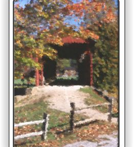 Covered Bridge Playing Cards