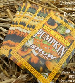 The 'Mazing' Pumpkin Show Deck of Cards - 2013