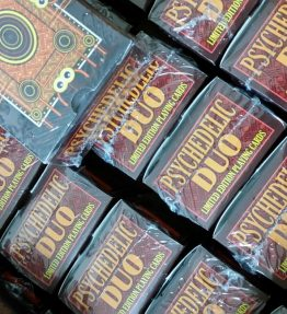RANDOM PSYCHEDELIC DUO Set of Limited Edition (50 Sets) Playing Cards