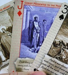 Life of Jesus Deck - Bible Playing Cards that Celebrate the Life of Jesus, Including His Birth - Christmas