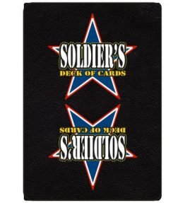 Soldiers Deck of Cards - Military Bible Playing Cards
