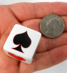 The 'Whatabe' Trump Marker/Indicator for Euchre - Includes 1