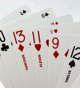 Two2Six Playing Cards - 6 Handed 500 or Super Solitaire Deck of Cards