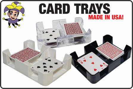 Wide variety of card trays made in USA