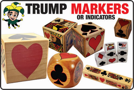 Wide variety of trump markers or indicators