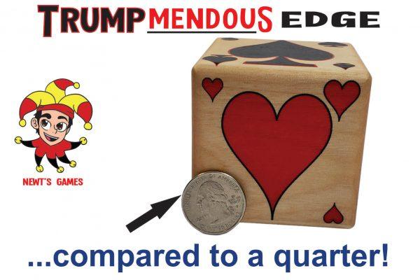 Trumpmendous EDGE Trump Marker compared to quarter