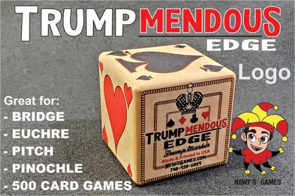 Trumpmendous EDGE Trump Marker logo side of trump marker