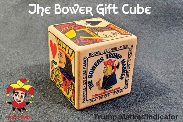 The Bowers Trump Marker on Gray Felt